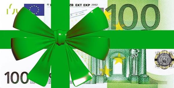 100ユーロ