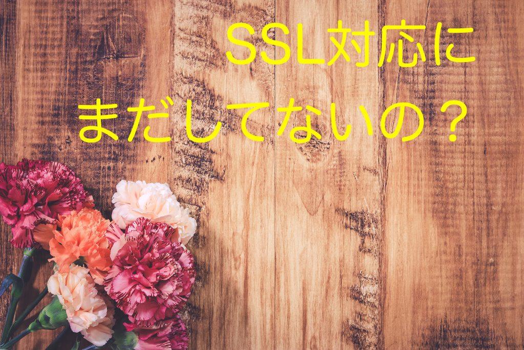 SSL化について画像